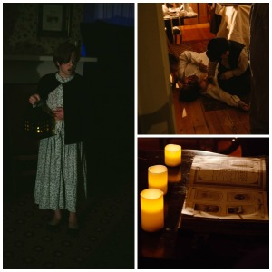 Ghost Tour collage