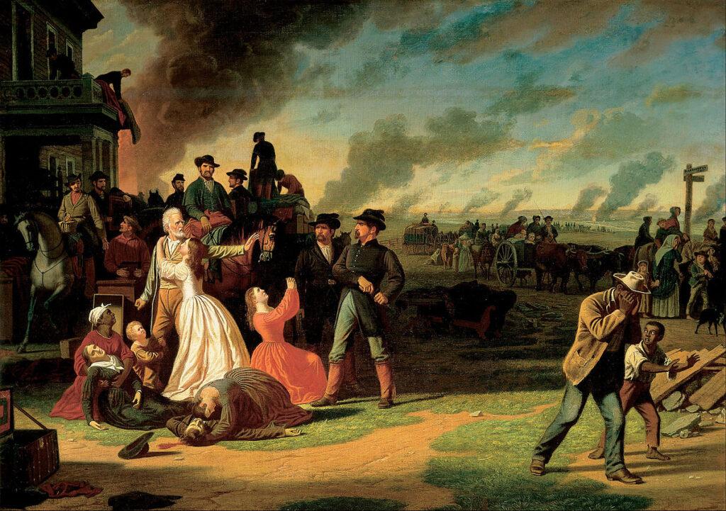 Martial Law by George Caleb Bingham